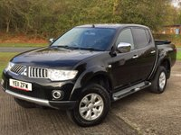 USED 2011 11 MITSUBISHI L200 2.5 DI-D 4X4 TROJAN DCB 1d 134 BHP SIDE STEPS LOAD COVER FSH NO VAT NO FINANCE REPAYMENTS FOR 2 MONTHS STC. NO VAT. 4WD. STUNNING BLACK MET WITH GREY CLOTH TRIM. RUNNING BOARDS. AIR CON. 16 INCH ALLOYS. COLOUR CODED TRIMS. LOAD LINER KIT. LOAD COVER. PAS. R/CD PLAYER. MFSW. TOWBAR. MOT 10/18. FULL SERVICE HISTORY. FCA FINANCE APPROVED DEALER. TEL 01937 849492