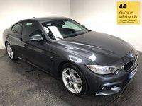 2014 BMW 4 SERIES 3.0 430D XDRIVE M SPORT 2d AUTO 255 BHP £19995.00
