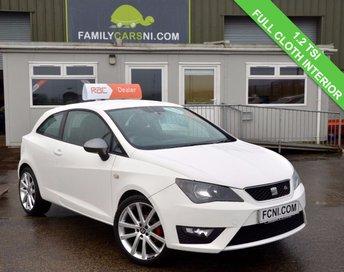 2013 SEAT IBIZA 1.2 TSI FR 3d 104 BHP £6195.00