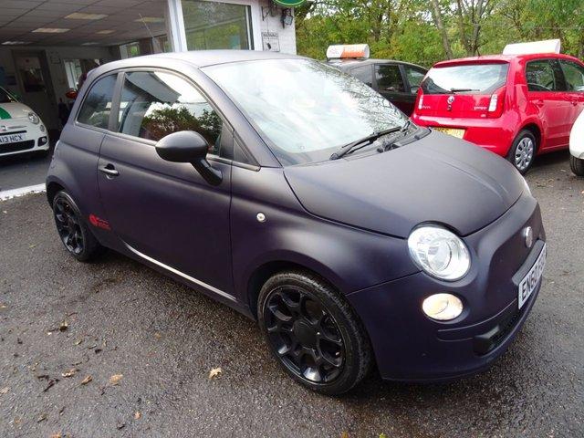 2011 60 FIAT 500 1.2 MATT BLACK 3d 69 BHP