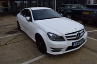 USED 2013 13 MERCEDES-BENZ C CLASS 1.6 C180 BLUEEFFICIENCY AMG SPORT 2d AUTO 154 BHP