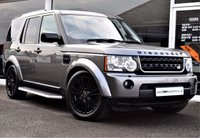 USED 2011 11 LAND ROVER DISCOVERY 4 3.0 4 SDV6 HSE 7 5d AUTO 245 BHP BLACK STYLING PACK FINANCE FROM £319.00 PER MONTH