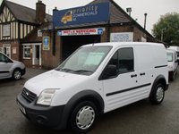 2011 FORD TRANSIT CONNECT T220 SWB WITH BLUETOOTH & ELECTRIC PACK FROM THE NATIONAL GRID £3745.00