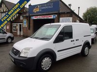 2011 FORD TRANSIT CONNECT T220 SWB WITH BLUETOOTH & ELECTRIC PACK FROM THE NATIONAL GRID £3595.00