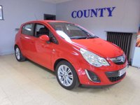 USED 2012 62 VAUXHALL CORSA 1.2 SE 5d 83 BHP * TWO OWNERS * LOW MILES *