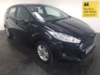 USED 2014 64 FORD FIESTA 1.5 ZETEC TDCI 5d 74 BHP FULL SERVICE HISTORY - ONE OWNER - BLUETOOTH - AUX / USB - ALLOY WHEELS - AIR CONDITIONING