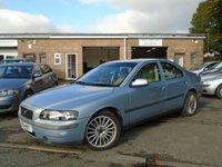 2001 VOLVO S60 2.0 S T 4d AUTO 177 BHP £895.00