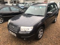 USED 2007 57 SUBARU FORESTER 2.0 X 5d 158 BHP