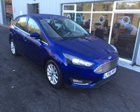 USED 2016 66 FORD FOCUS 1.0 TITANIUM NAVITAGTION ECOBOOST 125BHP THIS VEHICLE IS AT SITE 2 - TO VIEW CALL US ON 01903 323333