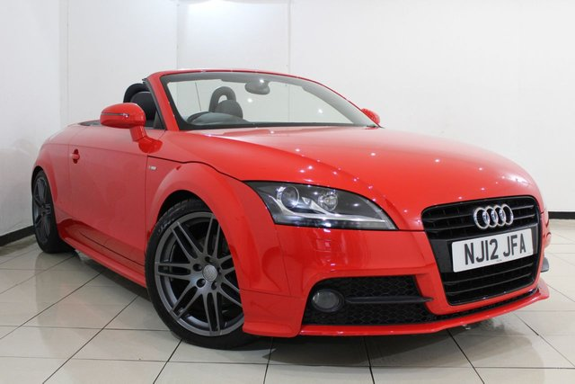 View our 2012 12 AUDI TT 2.0 TFSI S LINE BLACK EDITION 2DR 208 BHP