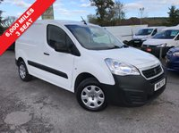 USED 2016 16 PEUGEOT PARTNER 1.6 HDI PROFESSIONAL L1 850 1d 89 BHP 3 Seat, Only 6,000 Miles, Air Conditioning, Finance Arranged, New Shape.