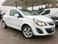 USED 2014 14 VAUXHALL CORSA 1.2 SPORTIVE CDTI 1d 94 BHP One Owner, Sportive, Alloy Wheels, Air Conditioning.