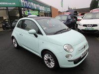 USED 2014 64 FIAT 500 1.2 LOUNGE 3d 69 BHP 1 OWNER FROM NEW... FULL HISTORY