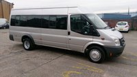2007 FORD TRANSIT 2.4 17 STR MINIBUS 100BHP 1d 100 BHP 1 OWNER X COUTY COUNCIL //// £5999.00