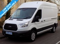 USED 2014 64 FORD TRANSIT L3 H3 350 LWB HIGH ROOF 2.2 RWD 125 BHP 6 SPEED 1 Owner, Full Service History