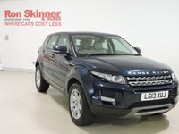 USED 2013 13 LAND ROVER RANGE ROVER EVOQUE 2.2 ED4 PURE TECH 5d 150 BHP