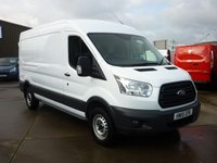 USED 2015 15 FORD TRANSIT 2.2TDCi T350 L3 H2 125 BHP NATIONWIDE DELIVERY AVAILABLE