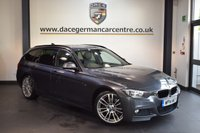 USED 2014 14 BMW 3 SERIES 3.0 330D M SPORT TOURING 5DR AUTO 255 BHP + FULL BLACK LEATHER INTERIOR + 1 OWNER FROM NEW + PRO SATELLITE NAVIGATION + BLUETOOTH + DAB RADIO + CRUISE CONTROL + RAIN SENSORS + PARKING SENSORS + 18 INCH ALLOY WHEELS +