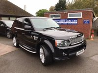 USED 2009 59 LAND ROVER RANGE ROVER SPORT 3.0 TDV6 HSE 5d AUTO 245 BHP FULL LAND ROVER SERVICE HISTORY, AUTOMATIC, REAR PARKING CAMERA