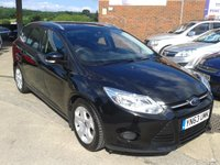 USED 2013 63 FORD FOCUS 1.6 TDCi Edge 5dr Estate, Turbo diesel, £20 Tax