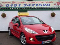 USED 2009 59 PEUGEOT 207 1.4 VERVE 3d 73 BHP GENUINE 34,000 MILES, ONE OWNER FROM NEW