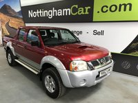 2002 NISSAN NAVARA D22 PICK UP £3995.00