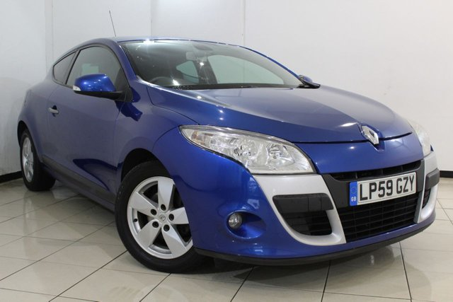 View our 2010 59 RENAULT MEGANE 1.6 DYNAMIQUE VVT 2DR 110 BHP
