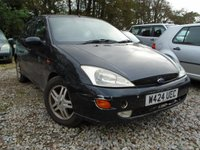 USED 2000 W FORD FOCUS 1.8 ZETEC 5d 113 BHP CHEAP PX TO CLEAR-MOT MARCH 18