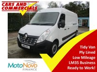 2016 RENAULT MASTER LWB LM35 BUSINESS 125ps £11500.00