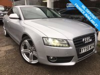 USED 2008 58 AUDI A5 2.7 TDI SPORT 3d AUTO 187 BHP BLUETOOTH, AUX, AUTO, CRUISE, LEATHER