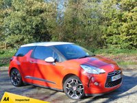 USED 2012 12 CITROEN DS3 1.6 DSTYLE PLUS 3d 120 BHP * 128 POINT AA INSPECTED *