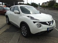 USED 2014 14 NISSAN JUKE 1.5 TEKNA DCI 5d 110 BHP TURBO DIESEL, FULL LEATHER
