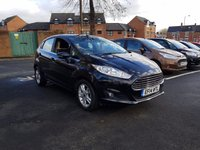 USED 2014 14 FORD FIESTA 1.6 ZETEC 5d AUTO 104 BHP EXCELLENT FUEL ECONOMY!!..LOW CO2 EMISSIONS(138G/KM)..LOW ROAD TAX!!..FULL HISTORY...ONLY 6953 MILES FROM NEW!..WITH ALLOY WHEELS, PARKING SENSORS, AND FRONT HEATED SCREEN!!..