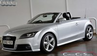 USED 2010 60 AUDI TT 2.0TDi QUATTRO S-LINE CONVERTIBLE 6-SPEED 170 BHP Finance? No deposit required and decision in minutes.
