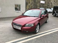 USED 2004 04 VOLVO V50 2.0 D SE 5d 135 BHP PART X TO CLEAR ** F.S.H + CAMBELT AT 136K **