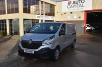 USED 2015 15 RENAULT TRAFIC 1.6 LL29 BUSINESS DCI S/R P/V 5d 115 BHP L2H1 LWB FWD DIESEL PANEL MANUAL VAN  ONE OWNER FULL S/H  SPARE KEY