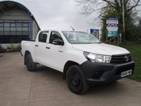 USED 2016 66 TOYOTA HI-LUX 2.4 ACTIVE 4WD D-4D DCB 1d 150 BHP 2016 66 4 X4 TOYOTA HILUX HL2 ACTIVE !!! NEW SHAPE !!! DOUBLE CAB WITH WARRANTED MILAGE 1 OWNER FROM NEW FULL SERVICE HISTORY