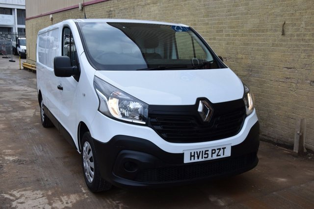 2015 15 RENAULT TRAFIC 1.6 LL29 BUSINESS DCI S/R P/V 5d 115 BHP LWB L2H1 FWD DIESEL PANEL MANUAL VAN  ONE OWNER / LOW MILEAGE VAN