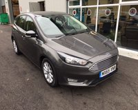 USED 2015 65 FORD FOCUS 1.5 TDCI TITANIUM NAVIGATOR 120 BHP THIS VEHICLE IS AT SHOWROOM 1 - TO VIEW CALL US ON 01903 892224