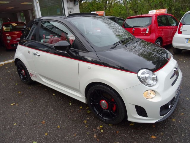 2012 ABARTH 500 1.4 CONVERTIBLE ABARTH 3d AUTOMATIC 140 BHP