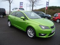 2012 SEAT IBIZA 1.2 TSI FR 3d 104 BHP £6450.00