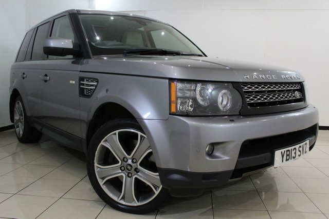 View our 2013 13 LAND ROVER RANGE ROVER SPORT 3.0 SDV6 HSE BLACK 5DR AUTOMATIC 255 BHP