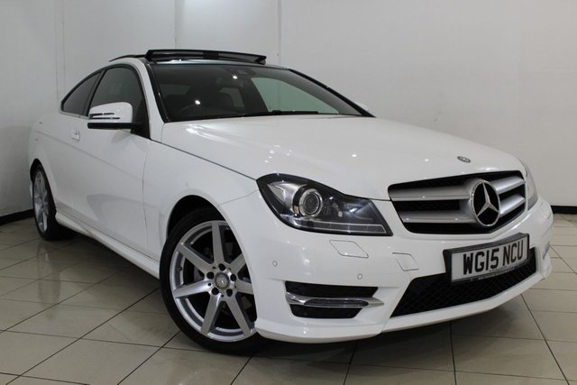 View our 2015 15 MERCEDES-BENZ C CLASS 2.1 C250 CDI AMG SPORT EDITION PREMIUM PLUS 2DR AUTOMATIC 202 BHP
