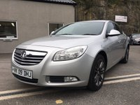USED 2009 09 VAUXHALL INSIGNIA 1.8 EXCLUSIV 5d 140 BHP *F.S.H**6 SPEED**ALLOYS**FULL MOT WHEN SOLD*