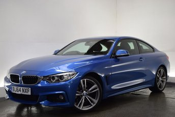 2014 BMW 4 SERIES 2.0 420D M SPORT 2d AUTO 181 BHP £17000.00