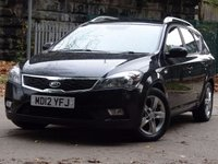 USED 2012 12 KIA CEED Estate 1600cc Diesel Eco Dynamics