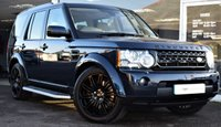 USED 2012 62 LAND ROVER DISCOVERY 4 3.0 SDV6  HSE 7 5d AUTO 255 BHP COMMAND SHIFT BLACK STYLING PACK