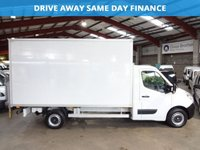 2012 RENAULT MASTER 2.3 LL35 DCI L/R BOX VAN 125 BHP WITH TAIL LIFT-ONE OWNER WITH SERVICE HISTORY £8995.00