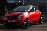2015 SMART FORFOUR 1.0 PRIME 5d 71 BHP £7995.00