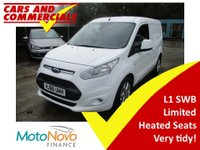 2016 FORD TRANSIT CONNECT 1.5 200 L1 SWB Limited 120ps (Euro6) £12500.00